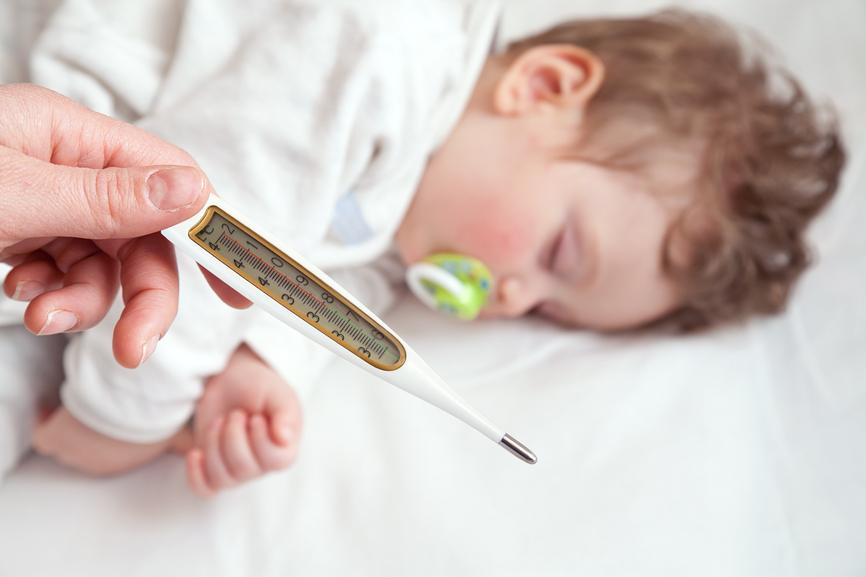 Ребенок 2 года температура то 37 то нет